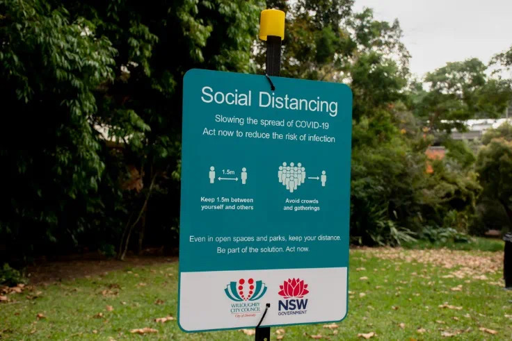 疫情社交距离