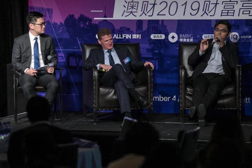 陆铭浩与PEP常务董事Cameron Blanks及戈壁投资执行合伙人Kay-Mok Ku